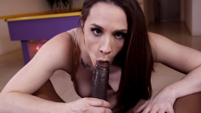 Chanel preston saugt hahn foto 1