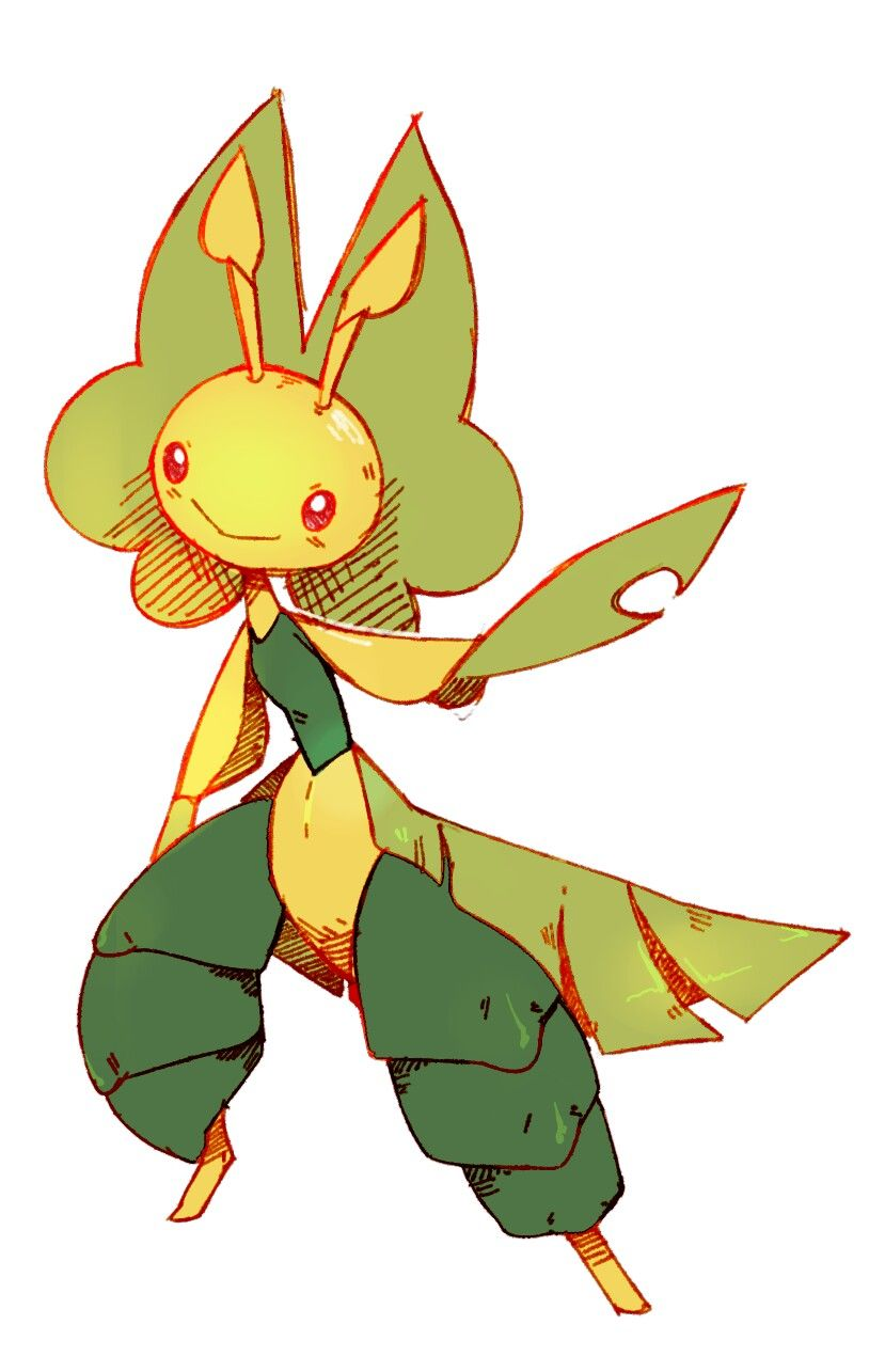 Normale bellsprout nintendo pokemon weepinbell whitney